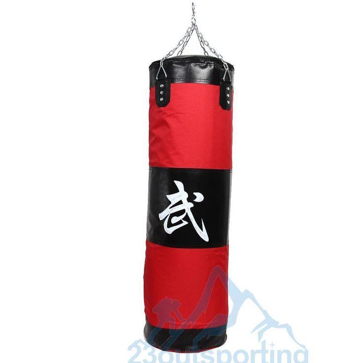 Entrenamiento MMA Boxeo Gancho Patada Saco  Arena Lucha Ponche Bolsa perforación