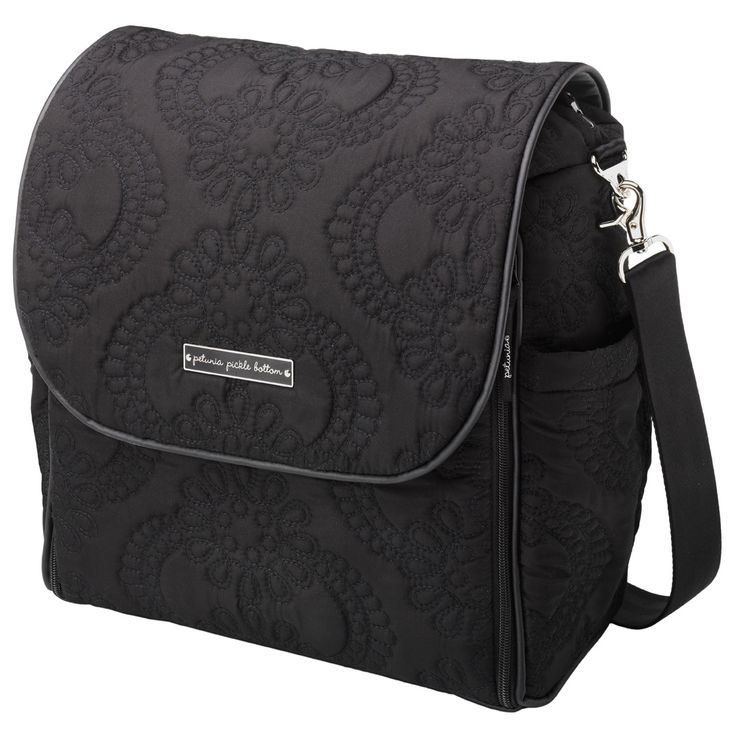 Petunia Pickle Bottom Diaper Bag Boxy Backpack Embossed Central Park North Stop @LaylaGrayce
