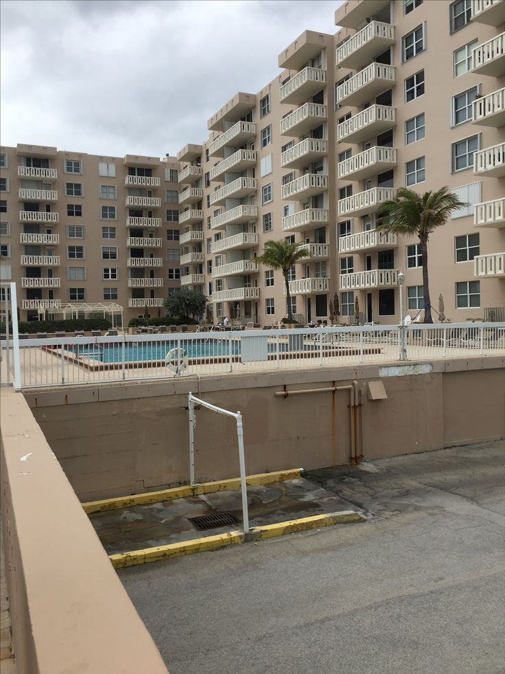 Car wash area palm beach condo building