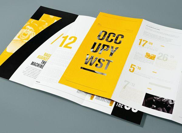 brochure — Designspiration