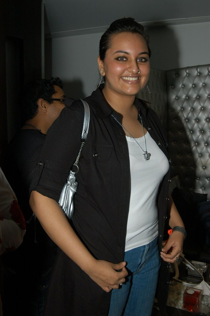 Sonakshi Sinha at Govinda's daughter Narmada's birthday party in 2007. #Style #Bollywood #Fashion #Beauty
