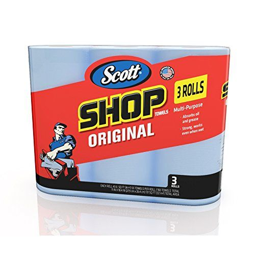 Whether faced with automotive detail, cleaning the garage or simply wiping windows, #Scott Shop Towels are exactly what you need to get the job done right! Each ...