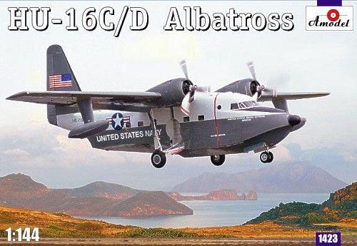Grumman HU-16C / HU-16D Albatross. A Model, 1/144, injection, No.1423. Price: 13,86 GBP.