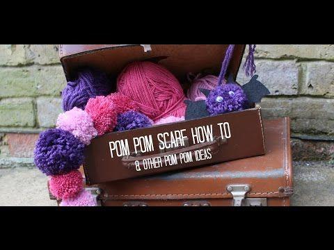 Pom Pom Making Techniques & DIY Pom Pom Scarf - Red Ted Art's Blog