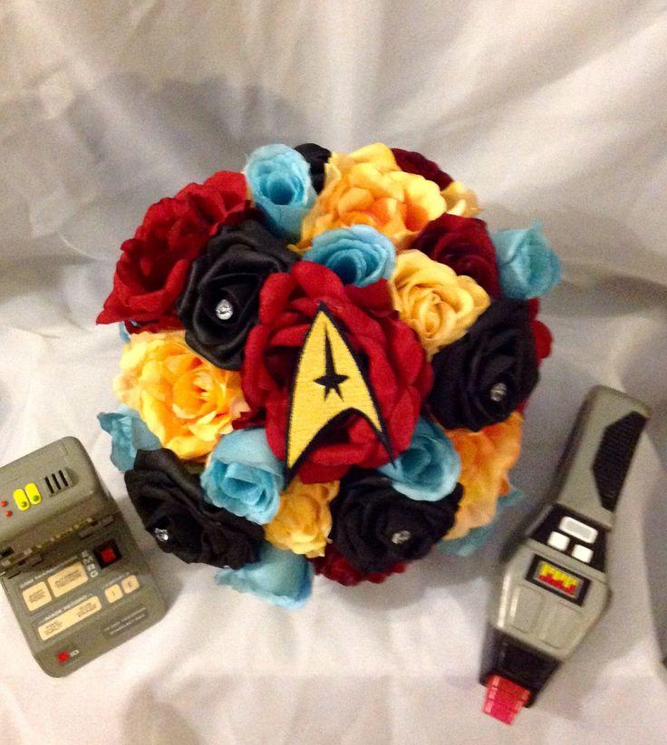 A personal favorite from my Etsy shop https://www.etsy.com/listing/535146317/star-trek-fantasy-bridal-bouquet
