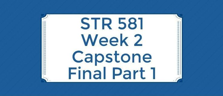 STR 581 Week 2 Capstone Final Part 1=================================1. The concept that some leadership attributes will work in some situations but not in others can be described by the2. Sam Meyers manages a telemarketing call center. He has 20 employees working for him who are displeased with the
