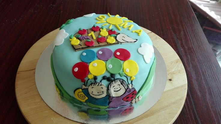 Bogyó és Babóca torta #cake