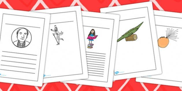 roald dahl day writing activities