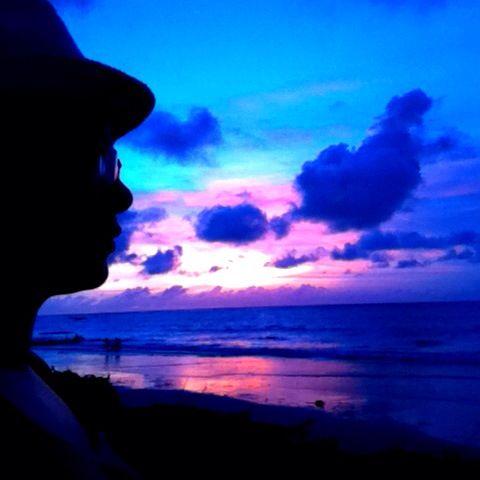 Me and #Beautiful #Sunset @Kuta #beach #Bali 29/12/14