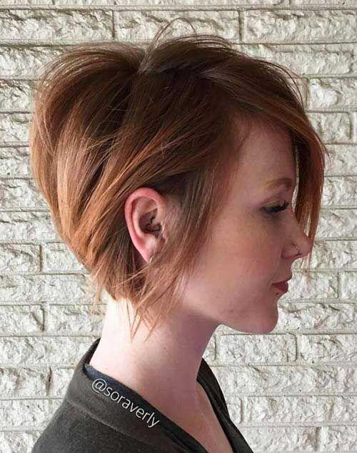 20 Nice Hair Color for Short Hair