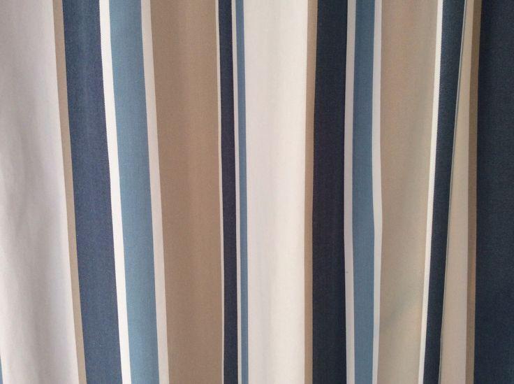 Curtain material beachside   Curtains   Pinterest