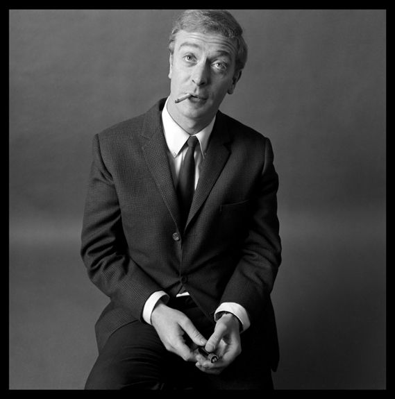 Brian Duffy. Michael Caine