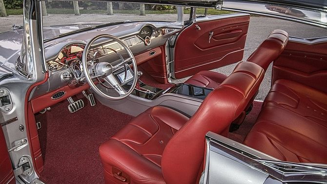 389 Best Tri Five Interiors Images On Pinterest Chevy Upholstery And Interior Ideas