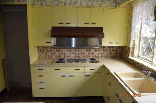 St. Charles vintage metal kitchen cabinets, Vintage ...