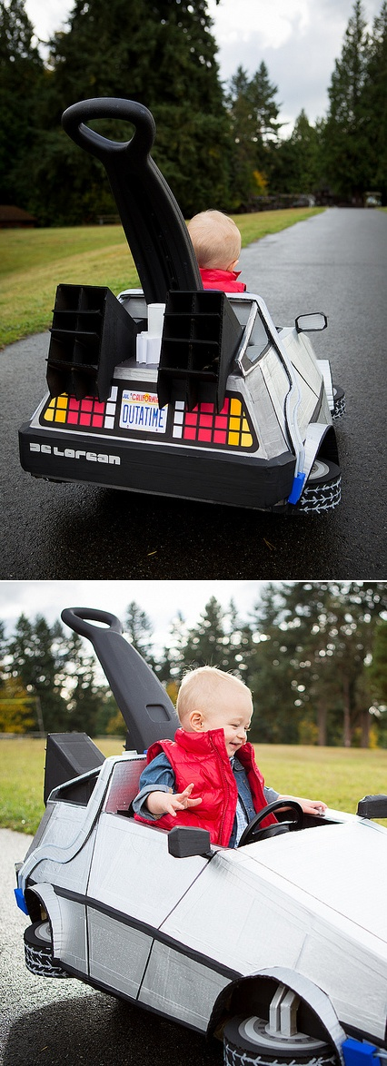 DeLorean Halloween Costume going to make an adult version for my bf