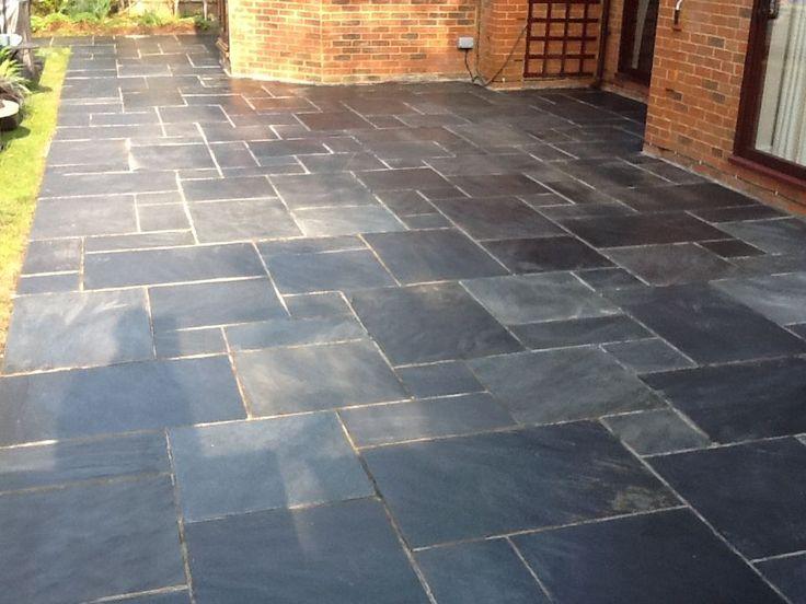 Elegant Slate Tiles For A Patio Photo   6