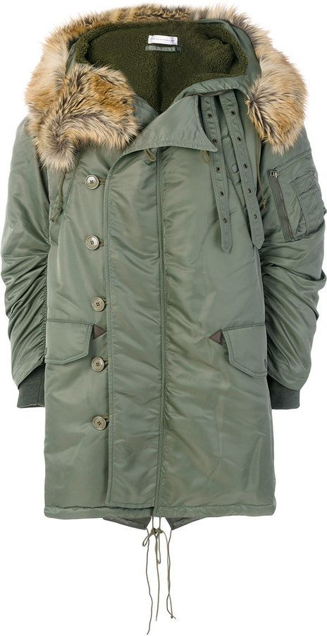 Faith Connexion classic parka coat