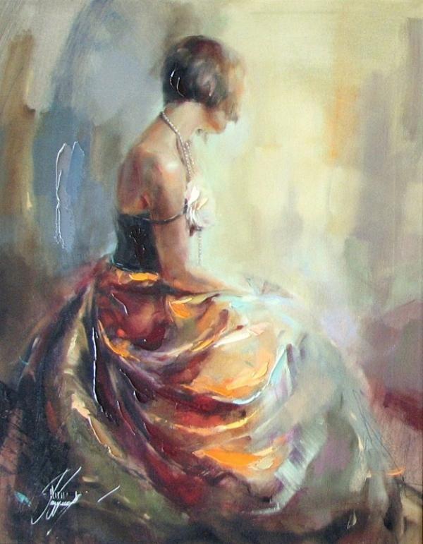 """Pearl Necklace"" by Anna Razumovskaya"