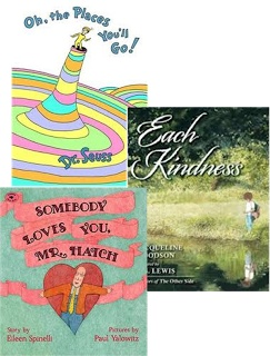 My blogpost about classroom community (character and kindness) lessons I taught using these three books. Tangible ideas for creating a better classroom environment and helping to create children who are better people...start today!