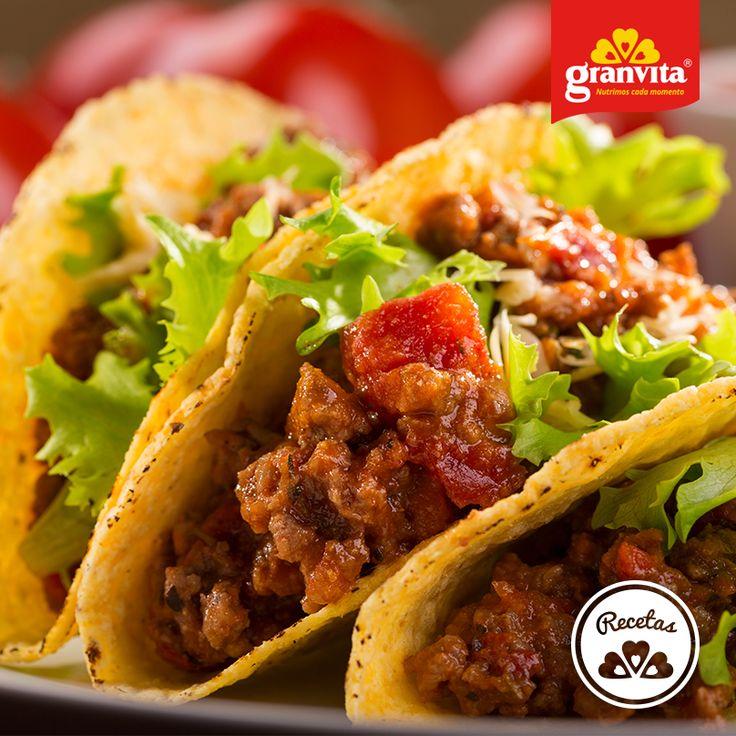 #Receta: Taquitos de chicharrón de Avena Granvita.   Saludable y riquísimo.