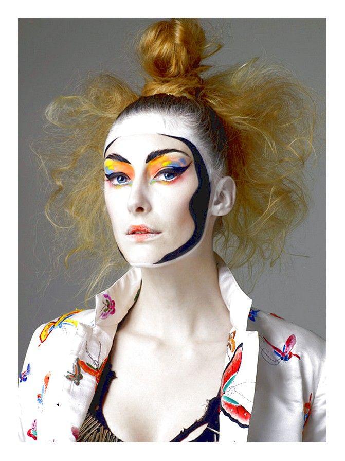 Contemporary Kabuki Makeup
