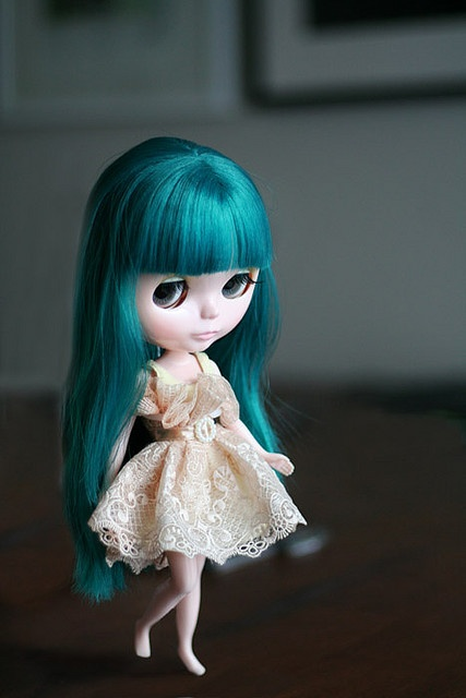 Turquoise hair love
