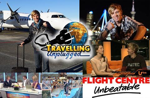 Thank You to Student Flights and Flight Centre South Africa for giving me a great deal on a flight to New Zealand! I had a great time promoting my television series and had an epic holiday with my family!   Cheers,   Byron   Photo by: Travelling Unplugged