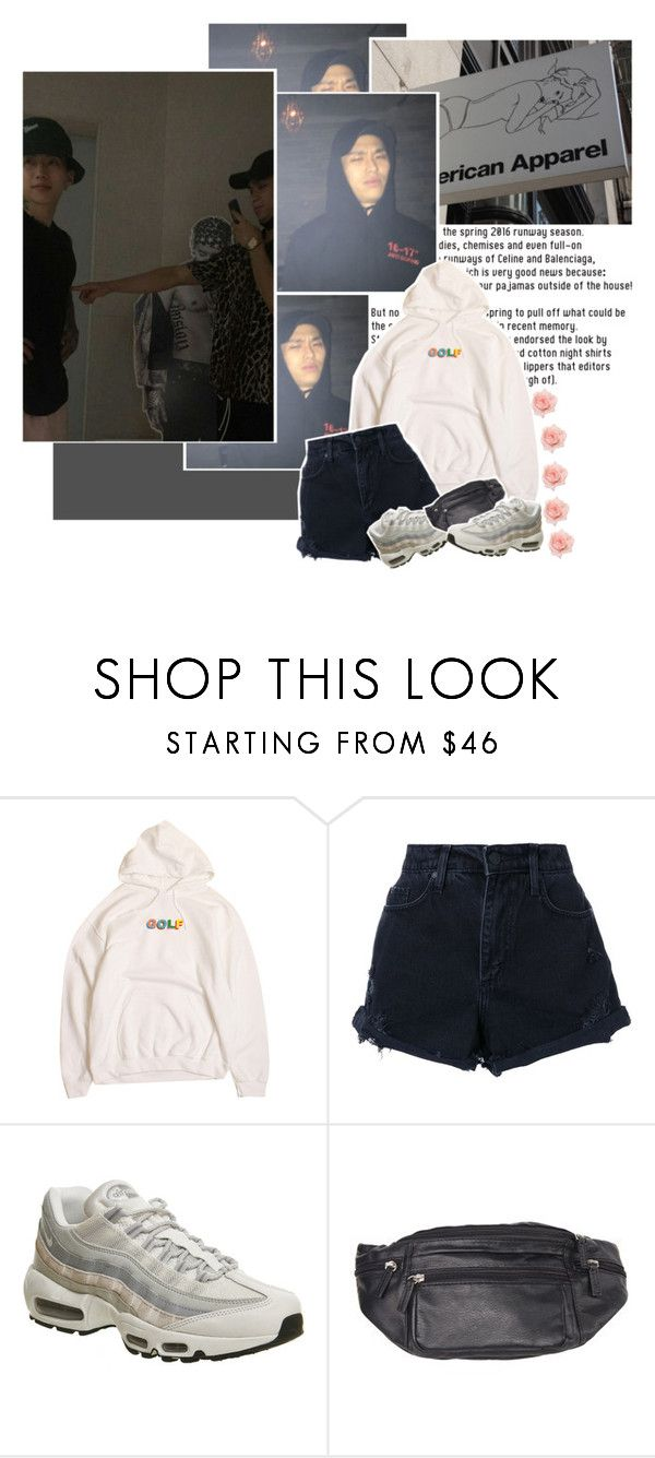 """"""" (ℎ ) — Sik-K"""" by purincess ❤ liked on Polyvore featuring Nobody Denim, NIKE, JayPark, khh, yellowsmob, sikk and minsik"""