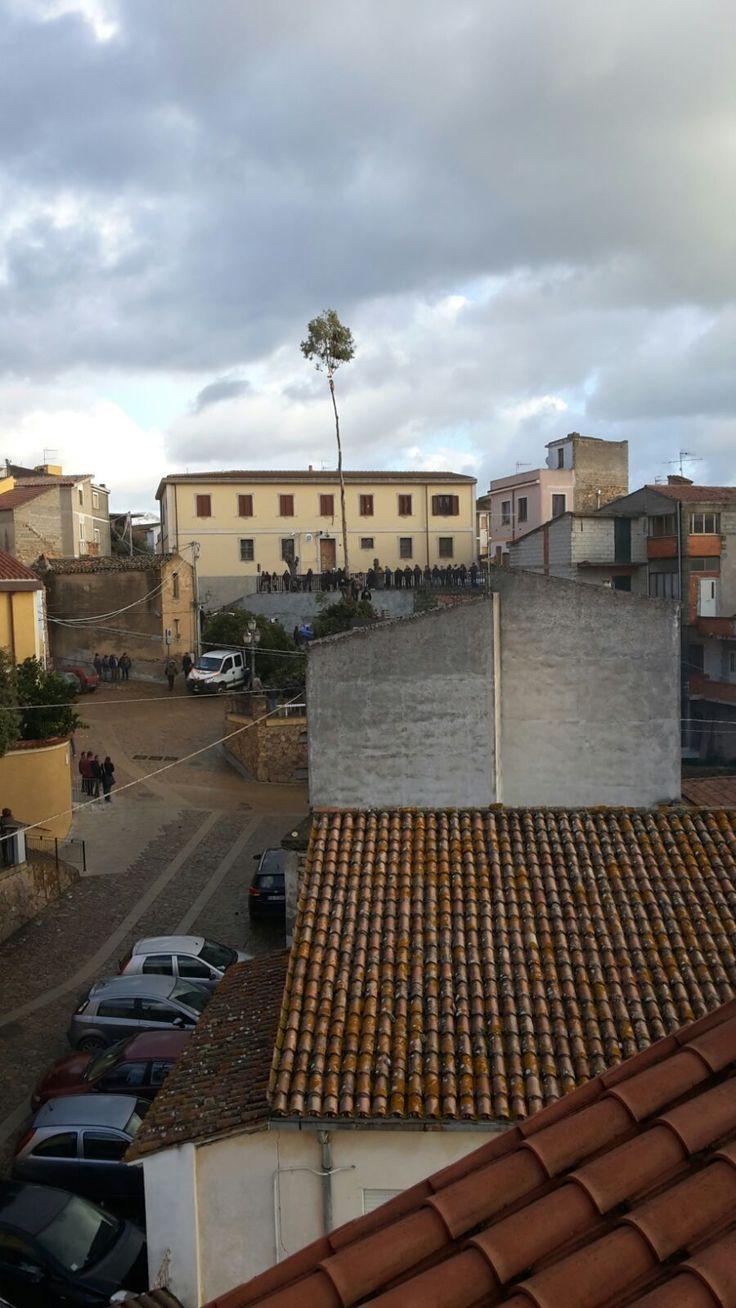 Fuoco di Sant'Antonio a Lodè, Nuoro