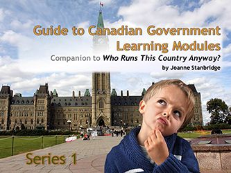 Guide to Canadian Government Learning Modules Series One - Northwoods Press.   Modules can be viewed online on your PC or mobile device, or can be downloaded for offline viewing.