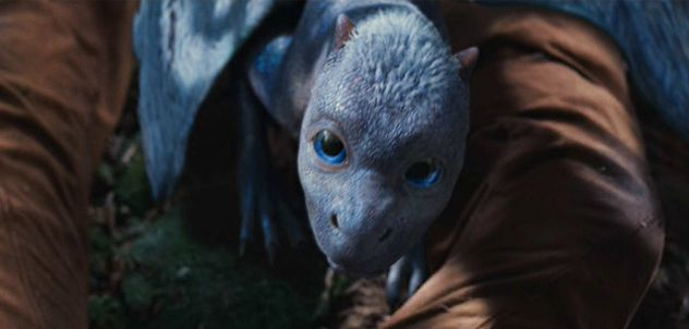 Baby Dragon Saphira from Eragon Movie. What a beautiful Bjartskulr