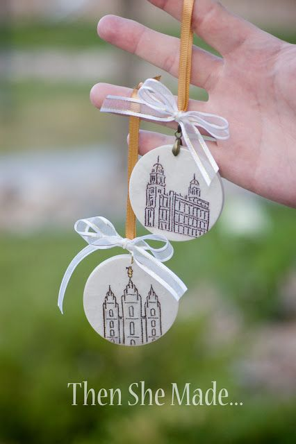 Ornaments - great for YW, Christmas or activity days!!!
