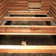 Черновой пол в деревянном доме: делаем крепкую лаговую основу под чистовое покрытие