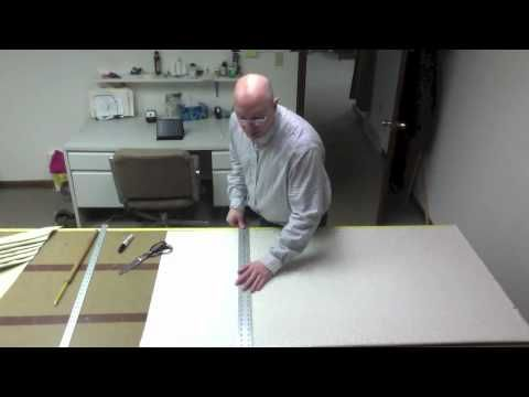 How To Make A Swag (Part 1)      --> Two part series on how to make and pleat a swag valance by Scott Weaver. For more information go to www.factorydirectwindowtreatments.com