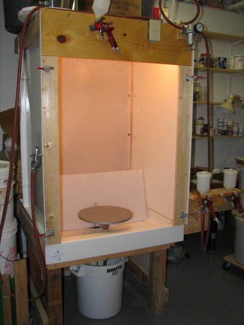 Diy Glaze Spray Booth Studio Pinterest Glaze Design