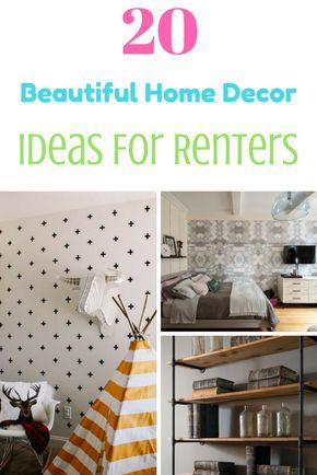 Dying to upgrade your rental and still get your deposit back? Our expert tips will give you the style (and storage!) you're craving.    http://www.hgtv.com/design/decorating/design-101/20-stylish-ways-to-upgrade-your-rental-pictures    Home decor, Home decor Ideas, Home decor On a budget, Home decor diy, Home decor Ideas on a budget, Home decor Ideas living room, Home, Home ideas, Home design, Home design inspiration