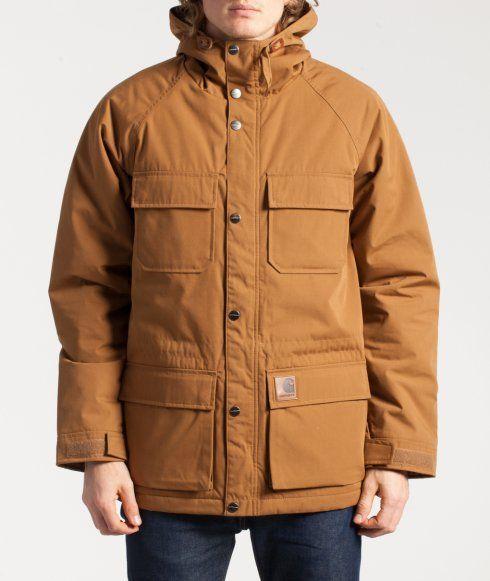 Mosley Jacket fra Carthartt, i Hamilton brun størrelse XL. Kan købes i Street Machine i Kronprinsessegade i Kbh K.