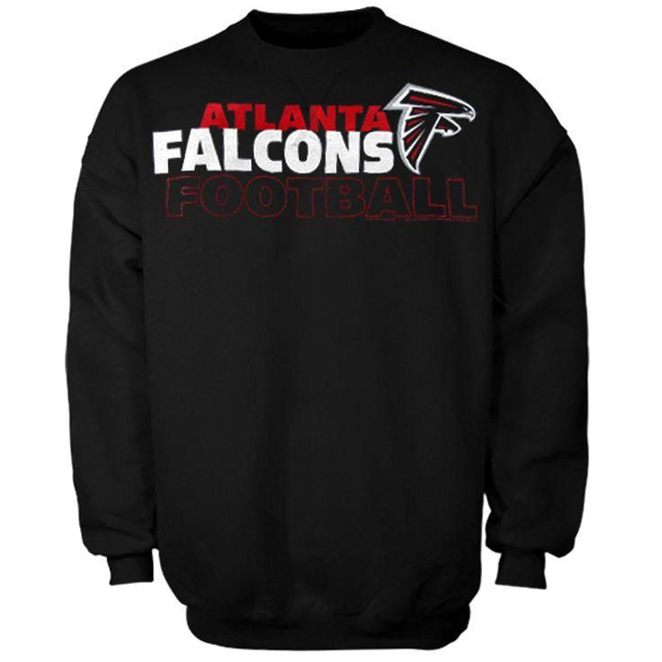 Atlanta Falcons Horizontal Text Sweatshirt - Black - $35.99