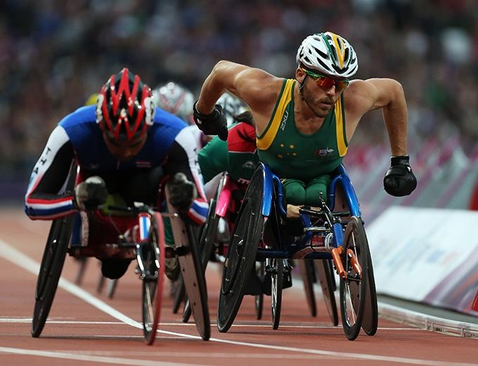 Kurt Fearnley is one of the most inspirational athletes ever!