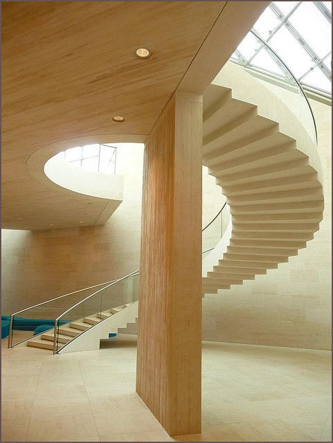 Mudam Museum for Contemporary Art in Luxembourg by I. M. Pei