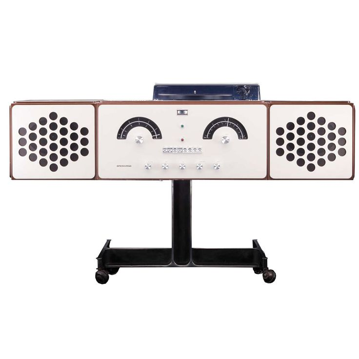 RR226 Sound System, designed by Achille and Pier Giacomo Castiglioni for Brionvega, 1965.