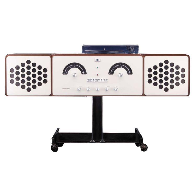 RR226 Sound System, designed by Achille and Pier Giacomo Castiglioni for Brionvega, 1965.