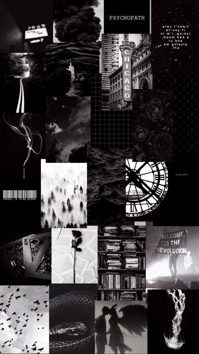 black aesthetic🕷🖤   Cute black wallpaper, Dark wallpaper iphone ...