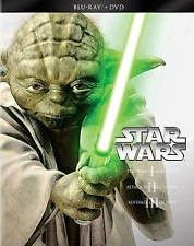 Star Wars: Prequel Trilogy I-II-III (Blu-RayDVD 2013 6-Disc Set) NEW !!!