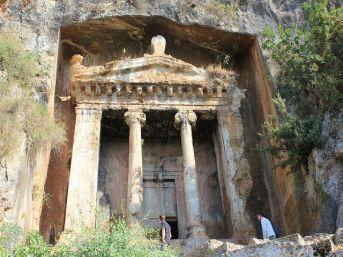 Belcegiz-Kaya Köy'ü. Stad verlaten door de Grieken in de 1920s