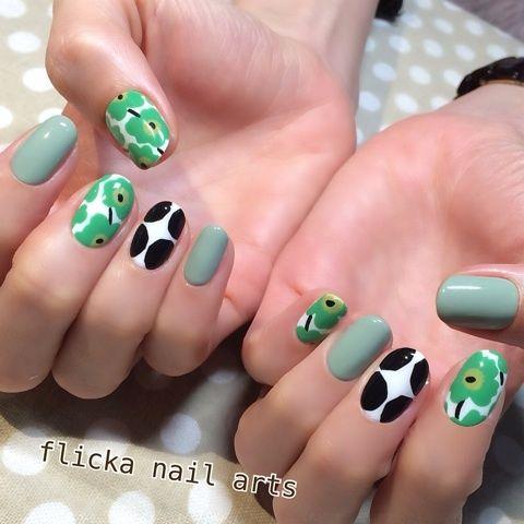 梅の花 の画像|茨城県水戸市プライベートネイルサロン flicka Nail Arts