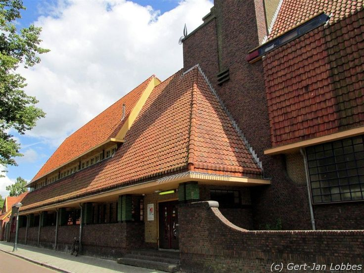 Architect S.J. Bouma, Simon van Hasseltschool, Heesterpoort 1 Groningen.