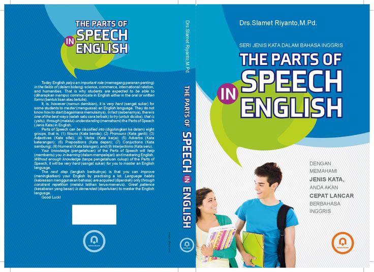 cover THE PARTS SPEECH_14 X 21 cm  #pustaka pelajar #digiart-jogja