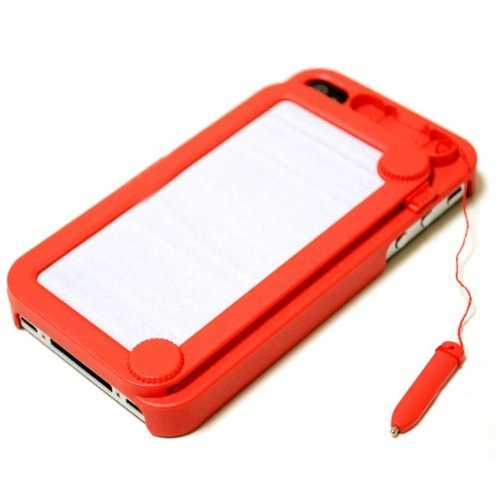 Hoter Creative Drawing Board Protective Case for iPhone 4/4S - Red by Hoter. $10.99. Höter® Creative Drawing Board Iphone 4/4S Case Protective CoverMaterial: Quality PC + Writing BoardColor: Pink, Hot Pink, Yellow, White, Green, Black, RedCreative drawing board brings you more joysLight Weight, Fashion Design, Adds no bulk to iPhone 4, 4SAnti-Slip: worry less about slipping iPhone off your handsLet yourself do all the magic! Write a note, draw a sketch and be foolish ...