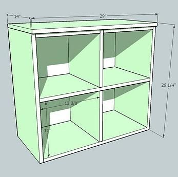 Ana- White: Cubby Hutch for the Cubby Storage Collection